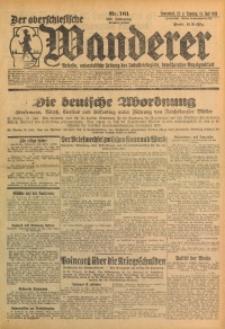 Der Oberschlesische Wanderer, 1929, Jg. 101, Nr. 161