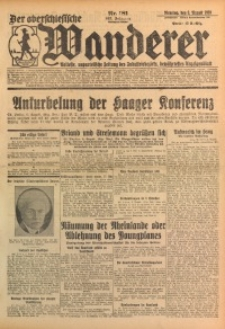 Der Oberschlesische Wanderer, 1929, Jg. 102, Nr. 181