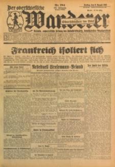 Der Oberschlesische Wanderer, 1929, Jg. 102, Nr. 184