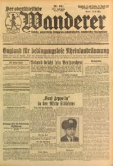 Der Oberschlesische Wanderer, 1929, Jg. 102, Nr. 191