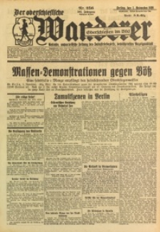 Der Oberschlesische Wanderer, 1929, Jg. 102, Nr. 256