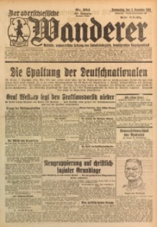 Der Oberschlesische Wanderer, 1929, Jg. 102, Nr. 284