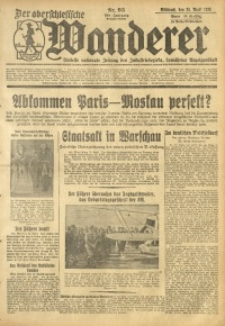 Der Oberschlesische Wanderer, 1935, Jg. 108, Nr. 95