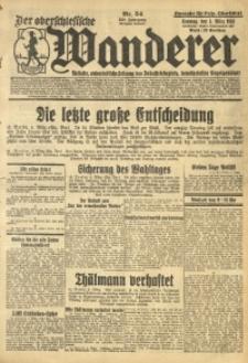 Der Oberschlesische Wanderer, 1933, Jg. 105, Nr. 54