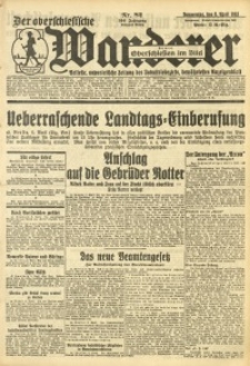 Der Oberschlesische Wanderer, 1933, Jg. 106, Nr. 82