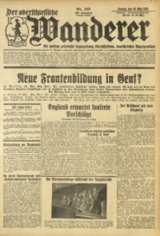 Der Oberschlesische Wanderer, 1933, Jg. 106, Nr. 117