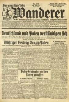 Der Oberschlesische Wanderer, 1933, Jg. 106, Nr. 185