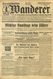 Der Oberschlesische Wanderer, 1933, Jg. 106, Nr. 191