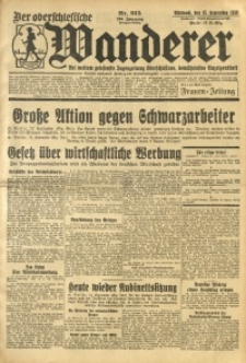 Der Oberschlesische Wanderer, 1933, Jg. 106, Nr. 215