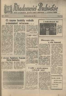 Wiadomości Prudnickie : organ Powiatowego Komitetu Frontu Narodowego w Prudniku. R. 2, nr 9.