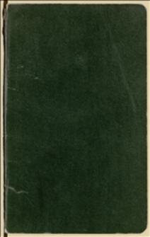 Notes Tadeusza Regera z jego notatkami. Okres 20.05.1920 r.-02.06.1920 r.
