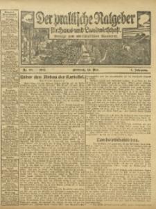 Der praktische Ratgeber für Haus- und Landwirtschaft, 1912, Jg. 4, Nr. 33