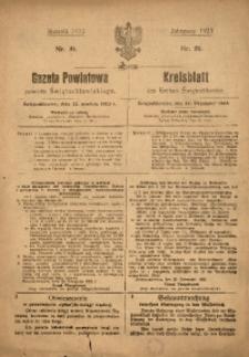 Gazeta Powiatowa Powiatu Świętochłowickiego, 1923, nr 51