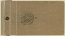 Notesik z osobistymi notatkami Tadeusza Regera