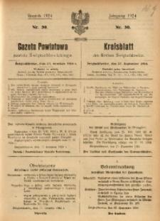 Gazeta Powiatowa Powiatu Świętochłowickiego, 1924, nr 39
