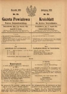 Gazeta Powiatowa Powiatu Świętochłowickiego, 1925, nr 33