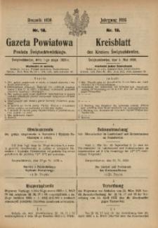 Gazeta Powiatowa Powiatu Świętochłowickiego, 1926, nr 18
