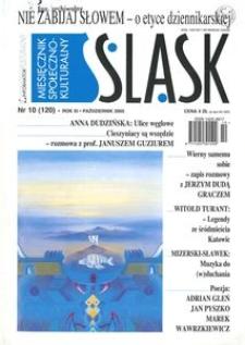 Śląsk, 2005, R. 11, nr 10