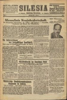 Silesia, 1934, Nry 1-22, 24-76