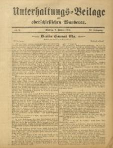 Unterhaltungs-Beilage zum Oberschlesischen Wanderer, 1912, Jg. 85, Nr. 5