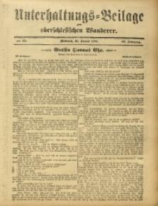 Unterhaltungs-Beilage zum Oberschlesischen Wanderer, 1912, Jg. 85, Nr. 25