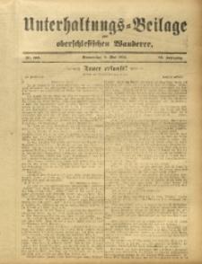 Unterhaltungs-Beilage zum Oberschlesischen Wanderer, 1912, Jg. 85, Nr. 106