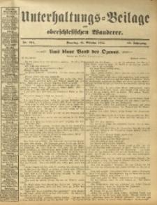 Unterhaltungs-Beilage zum Oberschlesischen Wanderer, 1912, Jg. 85, Nr. 244