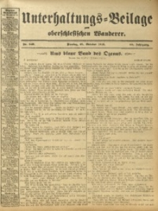 Unterhaltungs-Beilage zum Oberschlesischen Wanderer, 1912, Jg. 85, Nr. 249