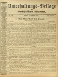 Unterhaltungs-Beilage zum Oberschlesischen Wanderer, 1912, Jg. 85, Nr. 254