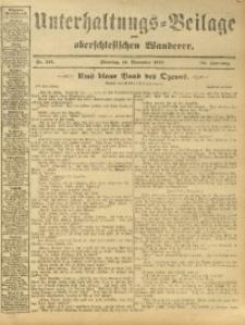 Unterhaltungs-Beilage zum Oberschlesischen Wanderer, 1912, Jg. 85, Nr. 261