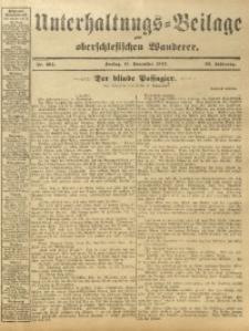 Unterhaltungs-Beilage zum Oberschlesischen Wanderer, 1912, Jg. 85, Nr. 264