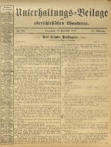 Unterhaltungs-Beilage zum Oberschlesischen Wanderer, 1912, Jg. 85, Nr. 265
