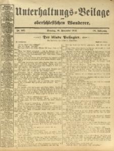 Unterhaltungs-Beilage zum Oberschlesischen Wanderer, 1912, Jg. 85, Nr. 267