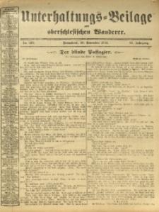 Unterhaltungs-Beilage zum Oberschlesischen Wanderer, 1912, Jg. 85, Nr. 276
