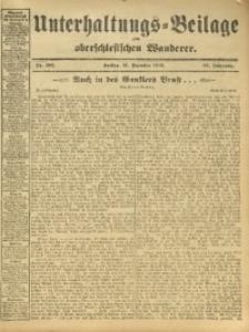 Unterhaltungs-Beilage zum Oberschlesischen Wanderer, 1912, Jg. 85, Nr. 287
