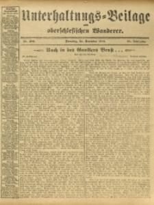 Unterhaltungs-Beilage zum Oberschlesischen Wanderer, 1912, Jg. 85, Nr. 296