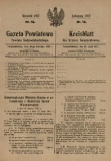 Gazeta Powiatowa Powiatu Świętochłowickiego, 1927, nr 16