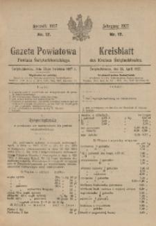 Gazeta Powiatowa Powiatu Świętochłowickiego, 1927, nr 17