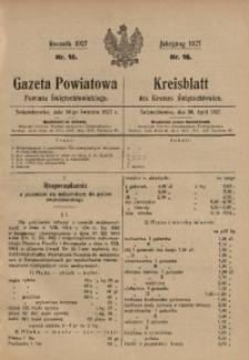 Gazeta Powiatowa Powiatu Świętochłowickiego, 1927, nr 18