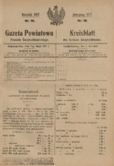 Gazeta Powiatowa Powiatu Świętochłowickiego, 1927, nr 19