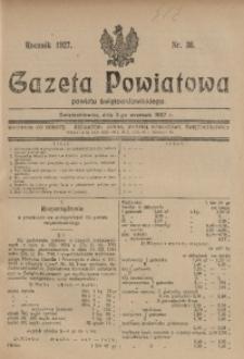 Gazeta Powiatowa Powiatu Świętochłowickiego, 1927, nr 36