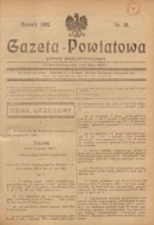 Gazeta Powiatowa Powiatu Świętochłowickiego, 1933, nr 26