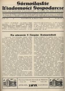 Górnośląskie Wiadomości Gospodarcze, 1932, R. 9, nr 9