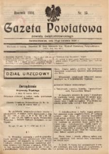 Gazeta Powiatowa Powiatu Świętochłowickiego, 1934, nr 15