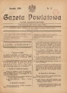 Gazeta Powiatowa Powiatu Świętochłowickiego, 1935, nr 8