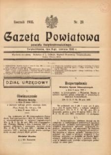 Gazeta Powiatowa Powiatu Świętochłowickiego, 1935, nr 23