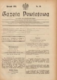 Gazeta Powiatowa Powiatu Świętochłowickiego, 1935, nr 50