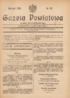 Gazeta Powiatowa Powiatu Świętochłowickiego, 1935, nr 52