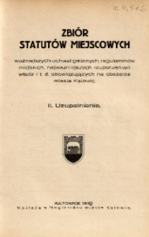 Wiadomości Administracyjne Miasta Katowic, 1932, nr [4/6]