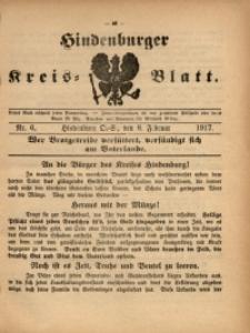 Hindenburger Kreis-Blatt, 1917, Nr. 6